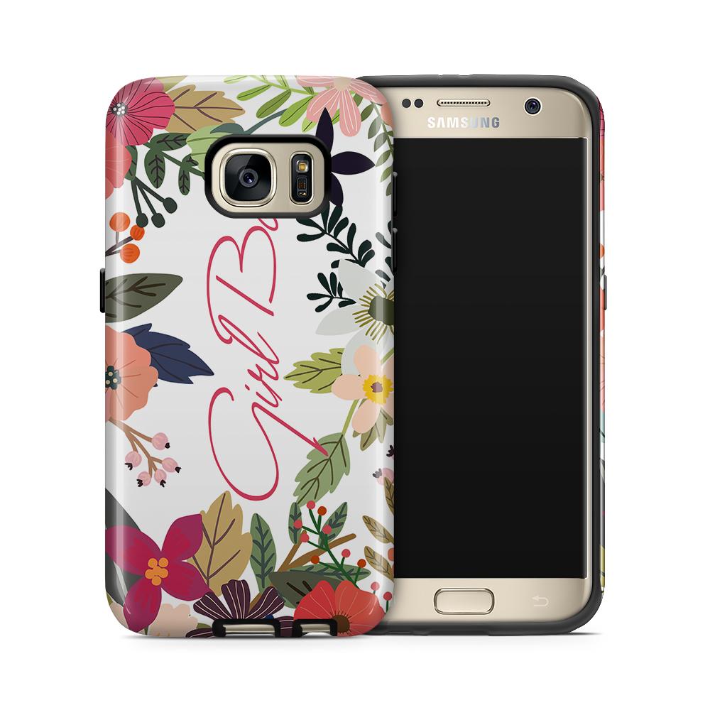 Tough mobilskal till Samsung Galaxy S7 - Girl Boss