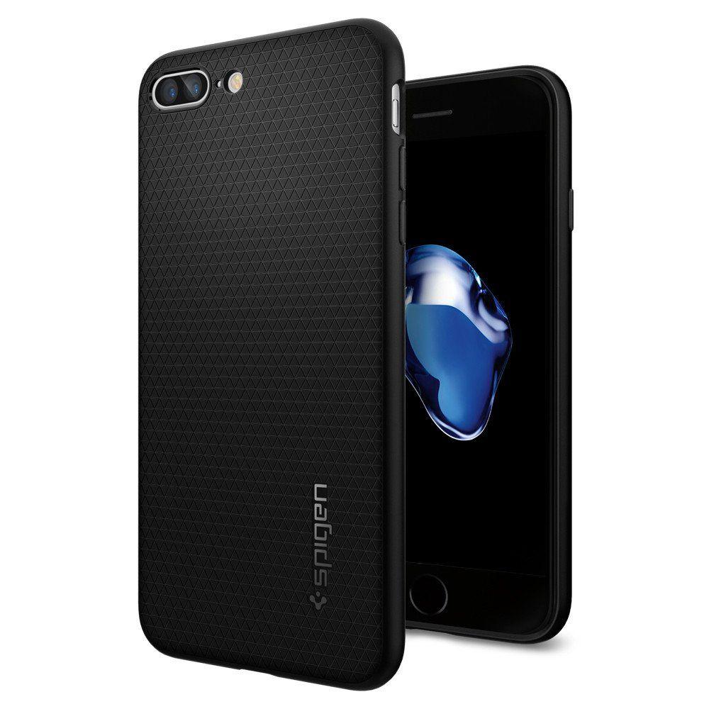 Mobilskal | iPhone 7/8+ | Spigen | Liquid Air Svart