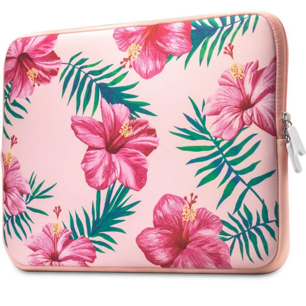 Tech-Protect Floral Laptop 13-14 Pink
