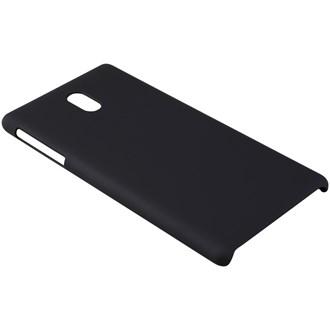 Melkco Rubberized Cover Nokia 3 - Black