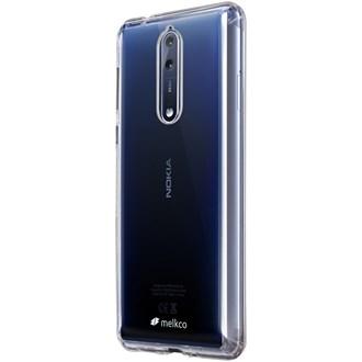 Melkco Polyultima Case Nokia 8 - Transparent