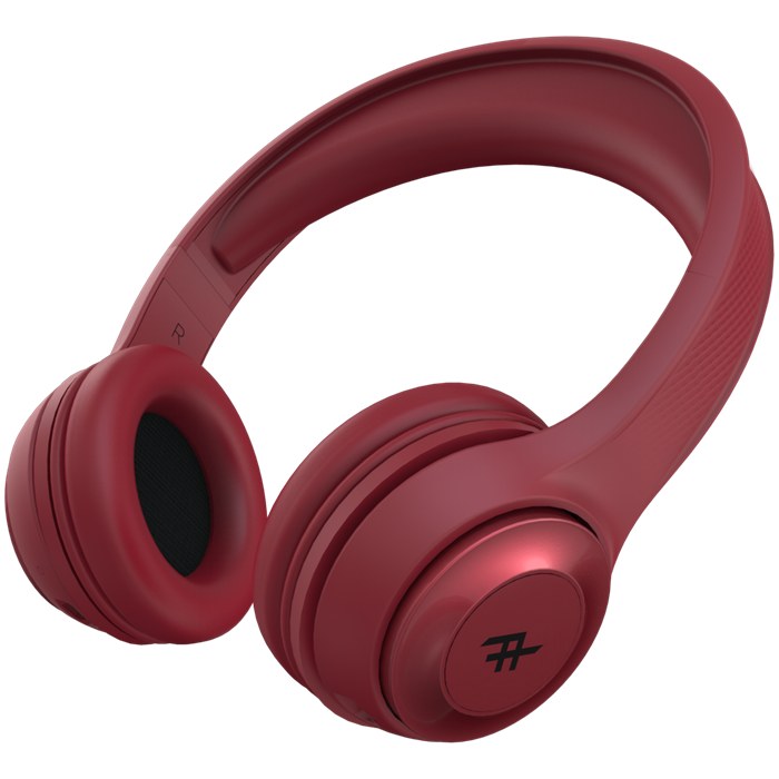 Ifrogz Audio Aurora Wireless Headphones - Red