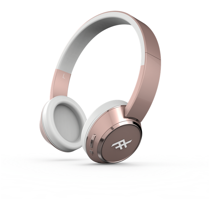 Ifrogz Coda Wireless Headphones With Mic - Rose Gold