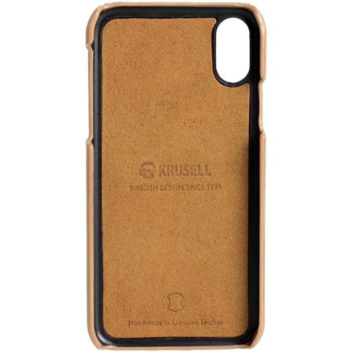 Krusell Sunne 2 Card Cover - Skal - iPhone X/Xs