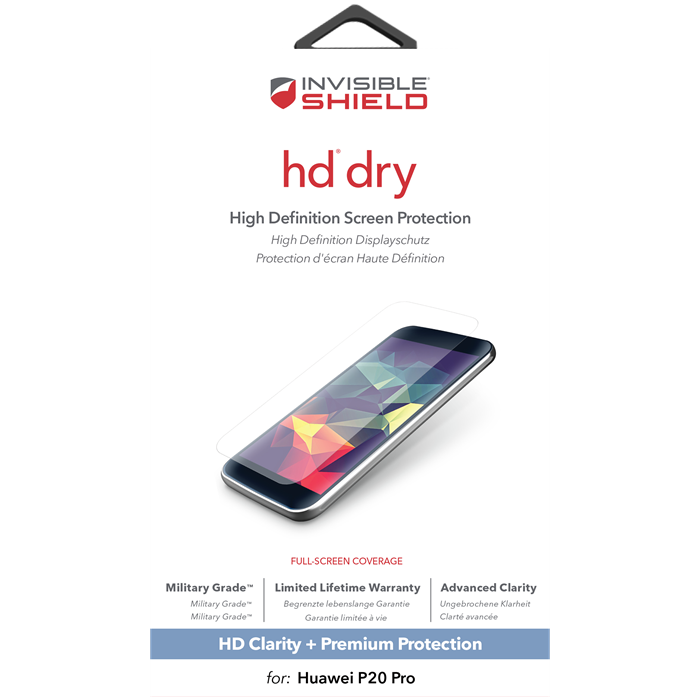 Zagg Invisibleshield Hd Dry Screen Huawei P20 Pro