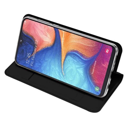 Dux Ducis Skin Pro Plånboksfodral till Samsung Galaxy A20e - Svart